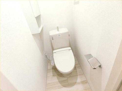 相模原市東橋本新築アパート物件情報(有)リビングホームエヌズハウス東橋本2 トイレ