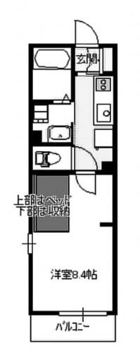 相模原市東橋本新築アパート物件情報(有)リビングホームエヌズハウス東橋本2 間取り画像