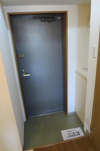 シューズボックスのついた玄関です。