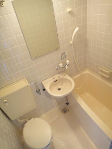浴室・トイレです。