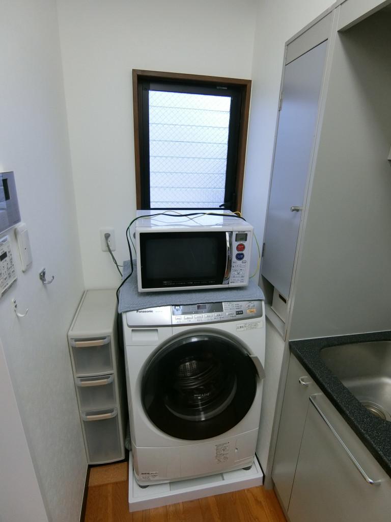 洗濯機、電子レンジは無償貸与物