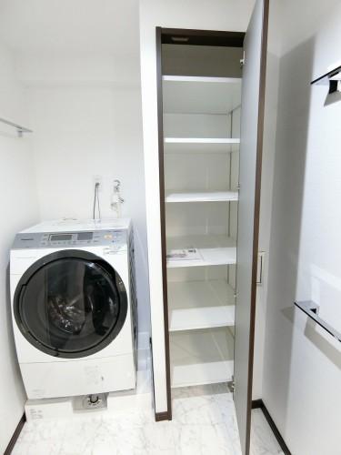ご希望有れば洗濯機無償貸与します