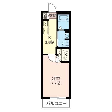 居室7帖以上・大型収納・独立洗面台など今現在のニーズに合ったプランと設備です。