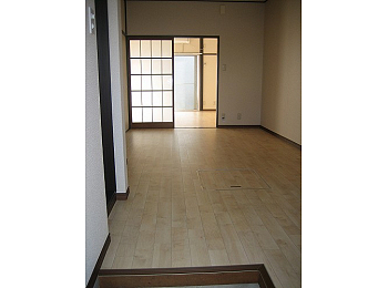 開放的な玄関口!