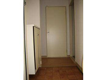 開放的な玄関口です。